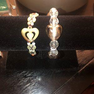 Jewelry - Super Cute Heart Bracelet Duo